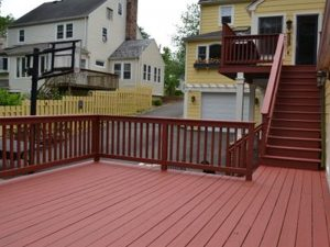 Exterior Deck Staining in Summit NJ