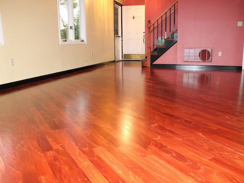 Cherry Hardwood Floors After Refinishing