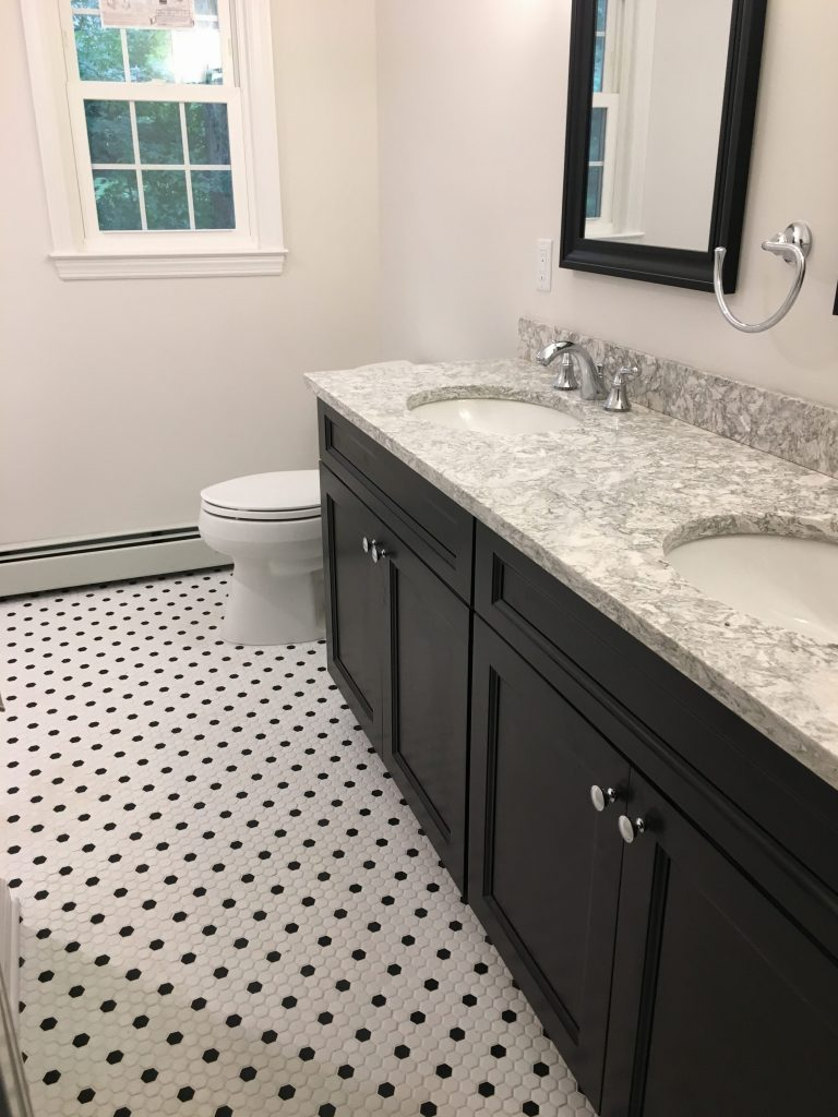 Hall Bathroom Remodel Chatham Township Monk S Home