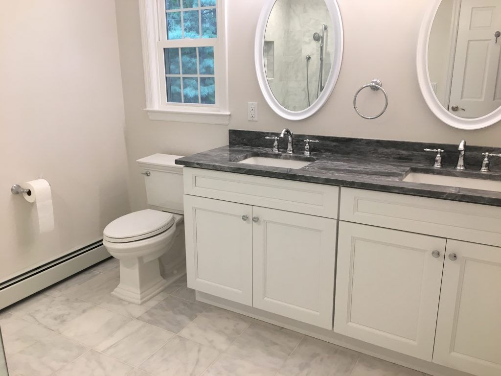 Master bathroom reno chatham nj monk 39 s home improvements for Bathroom remodel reno nv