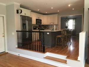 Kitchen Reconfiguration in Chatham NJ