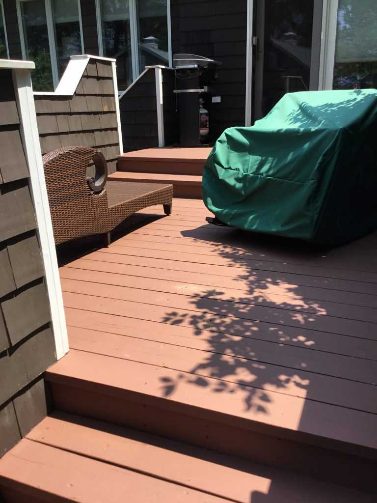 Pressure Wash Deck and Porch
