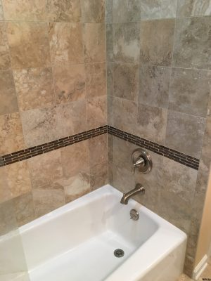 After View of Tub Faucet