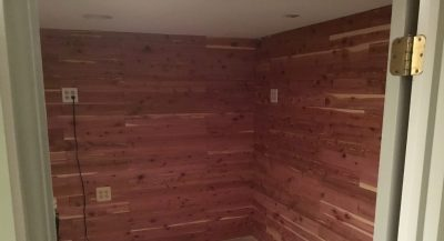 Cedar Closet for Storage