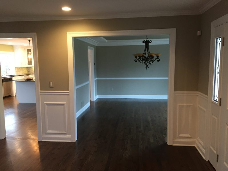 Completed Dining Room Renovations