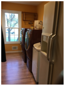 Laundry Room Before Renovation