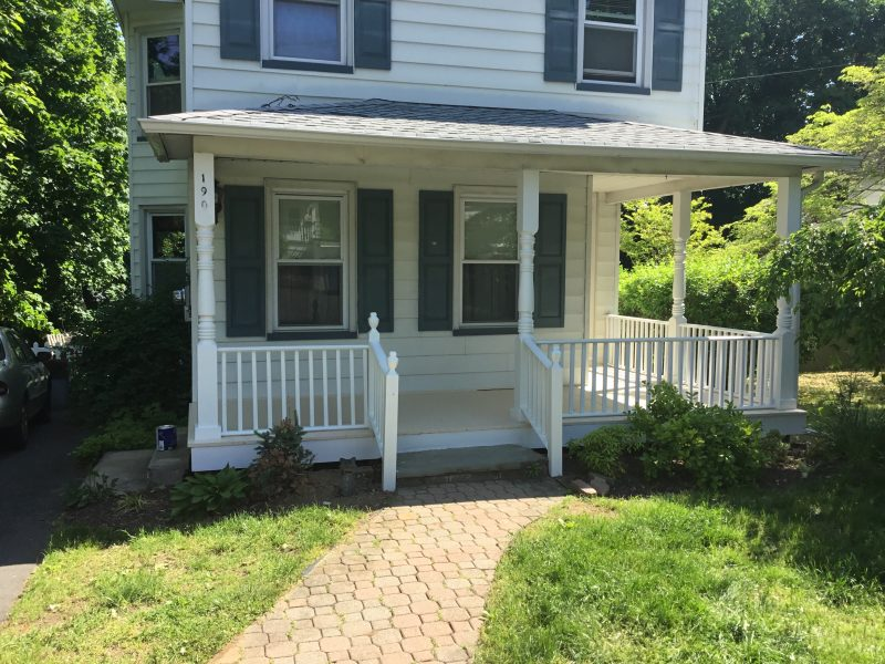 After Porch Reconstruction