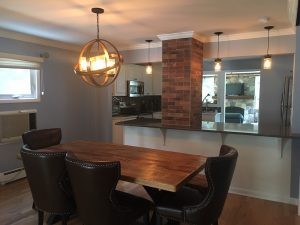 Creating an Open Plan Kitchen and Dining Area