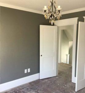 New Master Bedroom Trim, Doors, and Paint