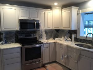 Sprayed Cabinetry