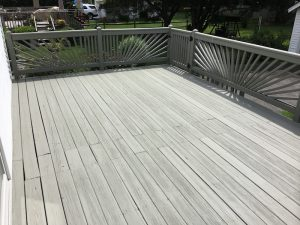 After Deck Repainting