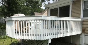 After Deck Refacing and Repainting