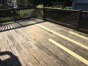 Replaced Decking