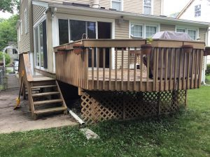 Deck Before Monk's