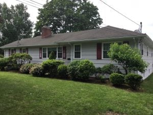 Ranch House Repaint in Madison, NJ