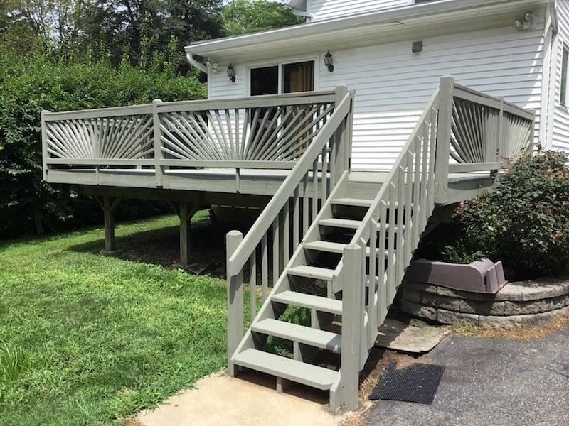 Repair and Repaint Deck