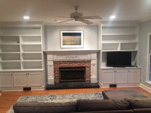 Completed Fireplace Surround