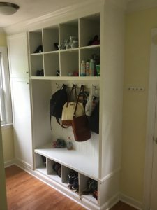 Final Mudroom Storage Unit