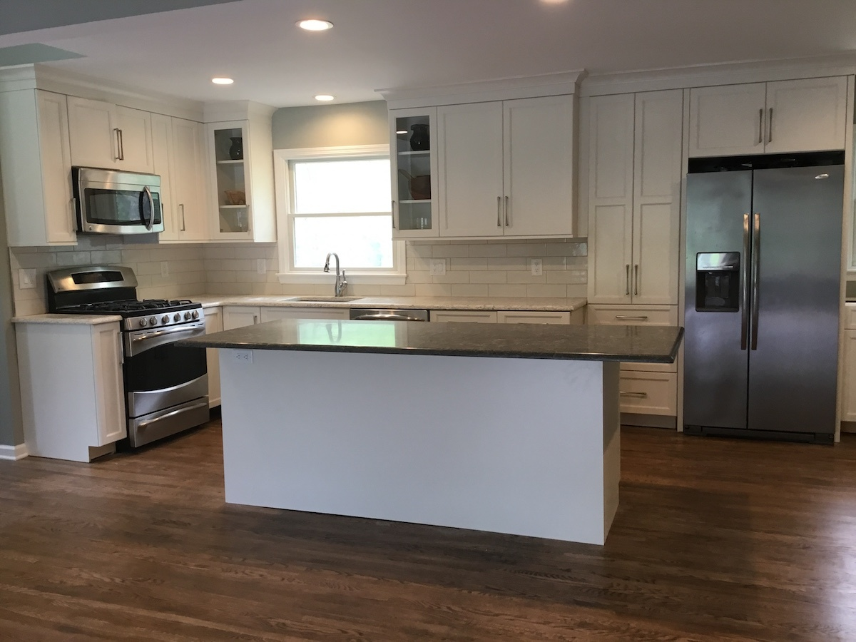 kitchen remodeling gallery monk s home improvements