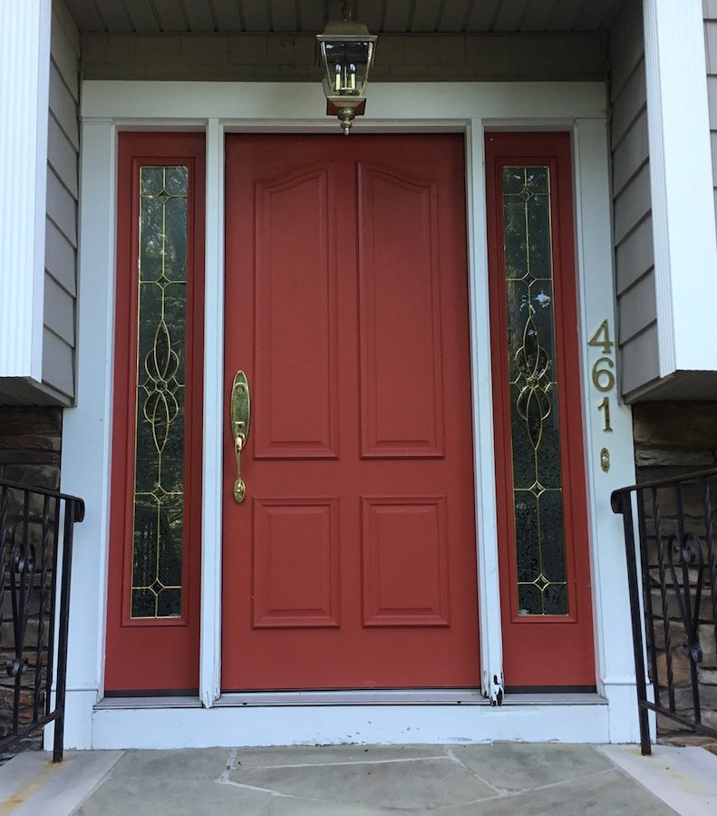 Front door replacement in boonton nj monk 39 s home for Front door replacement