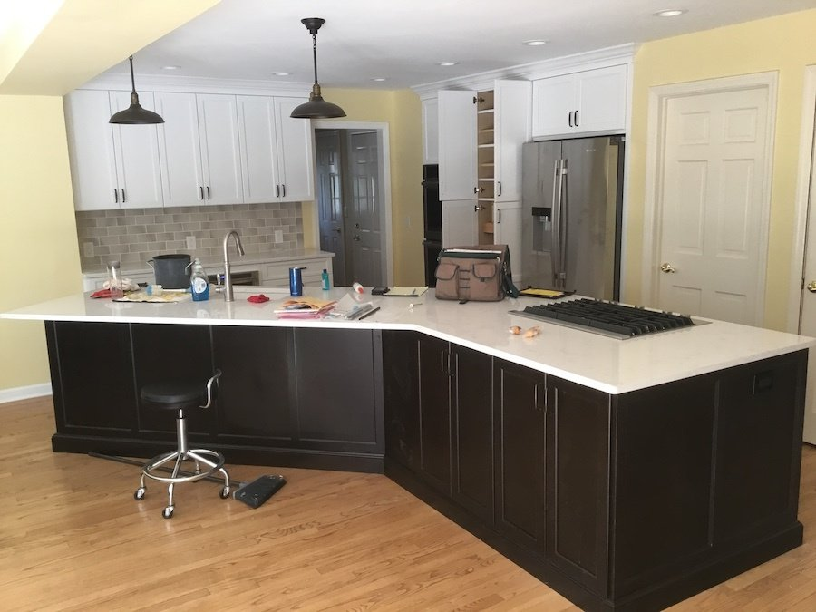 Bernardsville NJ Kitchen Remodel