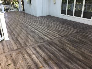Finished Composite Deck