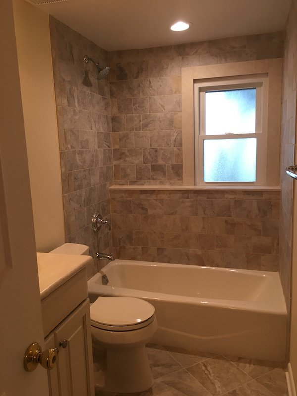 Bathroom Remodel After Termite Damage In Morris Plains Nj Monk 39 S