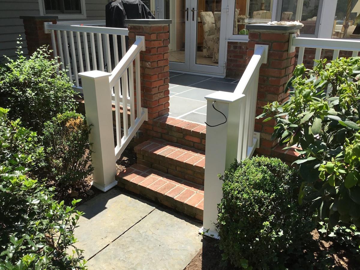 composite railing replacement in madison nj monk u0027s