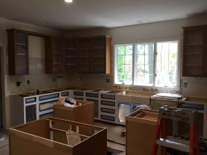 Prep to Paint Cabinets