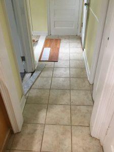 Existing Floor Tile