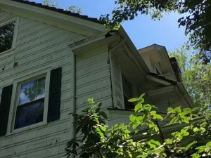 Rotted Fascia on the Corner