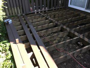 Deck Resurfacing in Progress