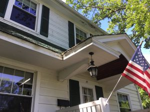 Rotted Trim in the Front of Home