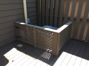 Solid stain to match privacy fence