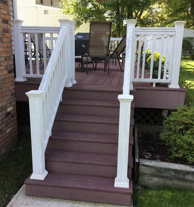 can you paint composite deck railings monk 39 s home