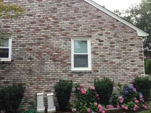 Whitewashed Brick Exterior