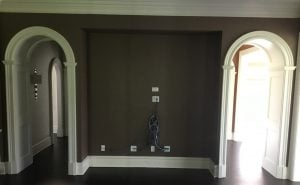Wall Nook Just Waiting for a Custom Built In