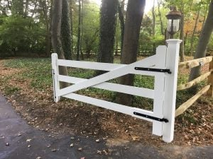 Protecting a New Wood Gate