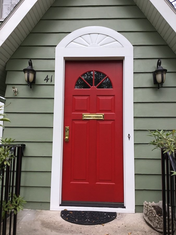Red Door Home Two Simple Ideas To Add Character To Your: New Red Front Door Says Welcome