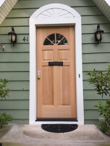 New Hardwood Front Door