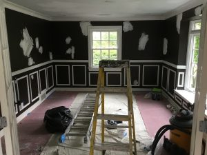 Existing Dark Dining Room Walls