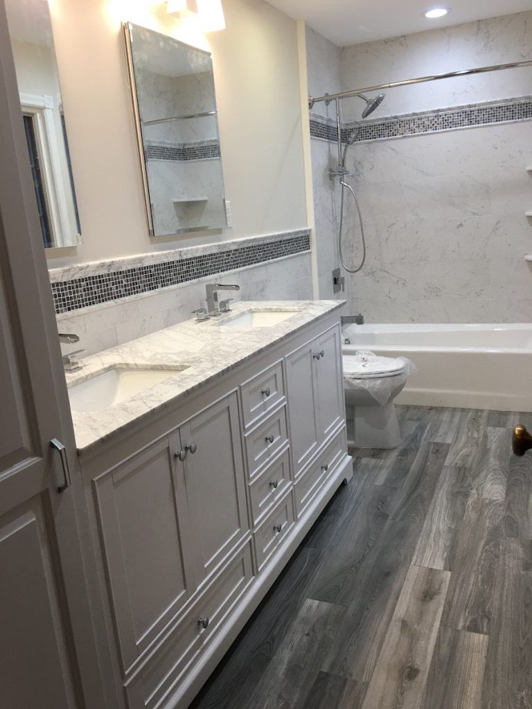 Remodeled Bathroom Ready for 2018