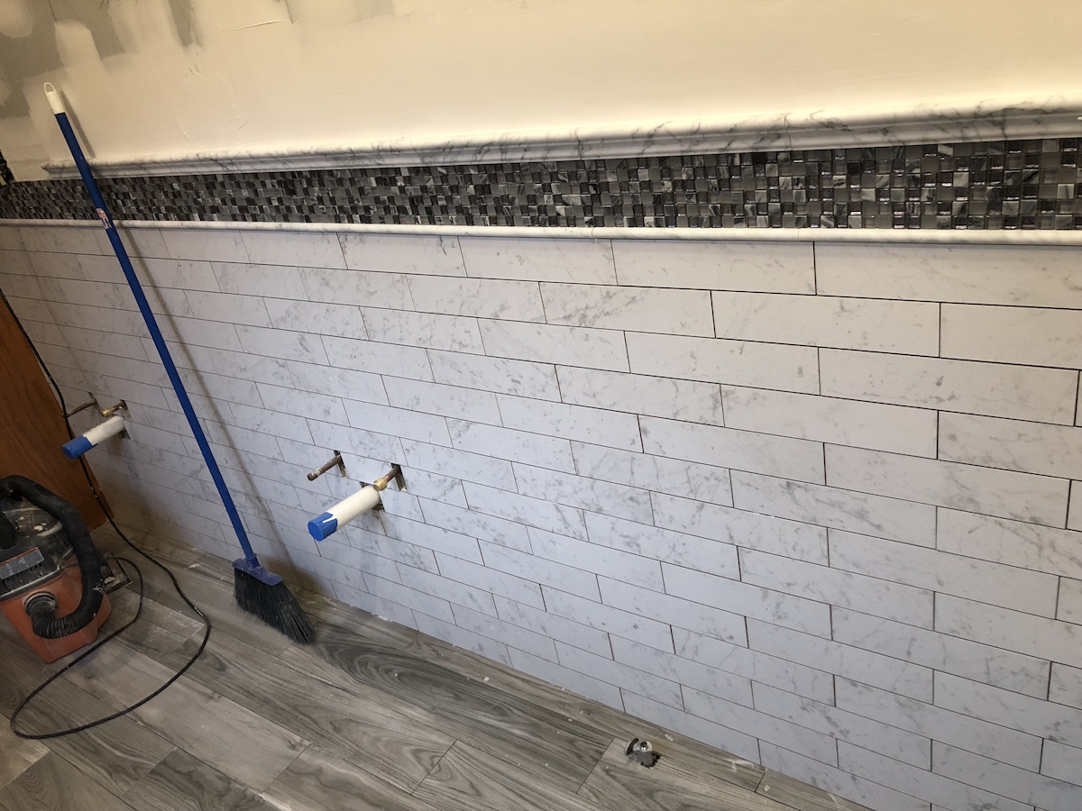 Remodeled Bathroom Ready for 2018 - Monk\'s Home Improvements