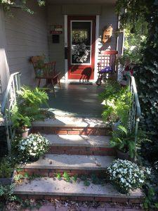 Overgrown porch