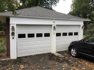 Detached Garage After Trim Replacement