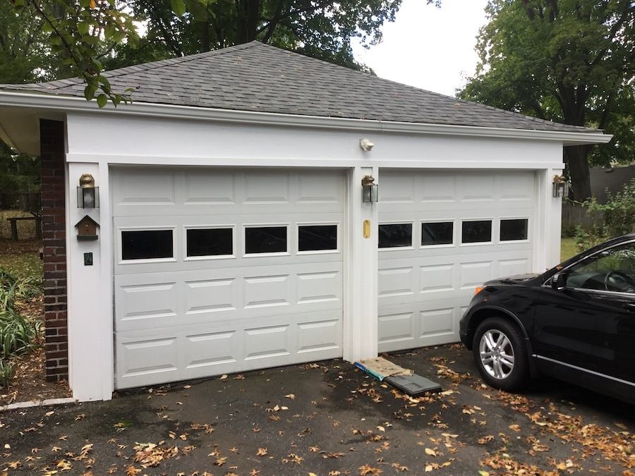 Repairing Trim On A Detached Garage Monk S Home Improvements