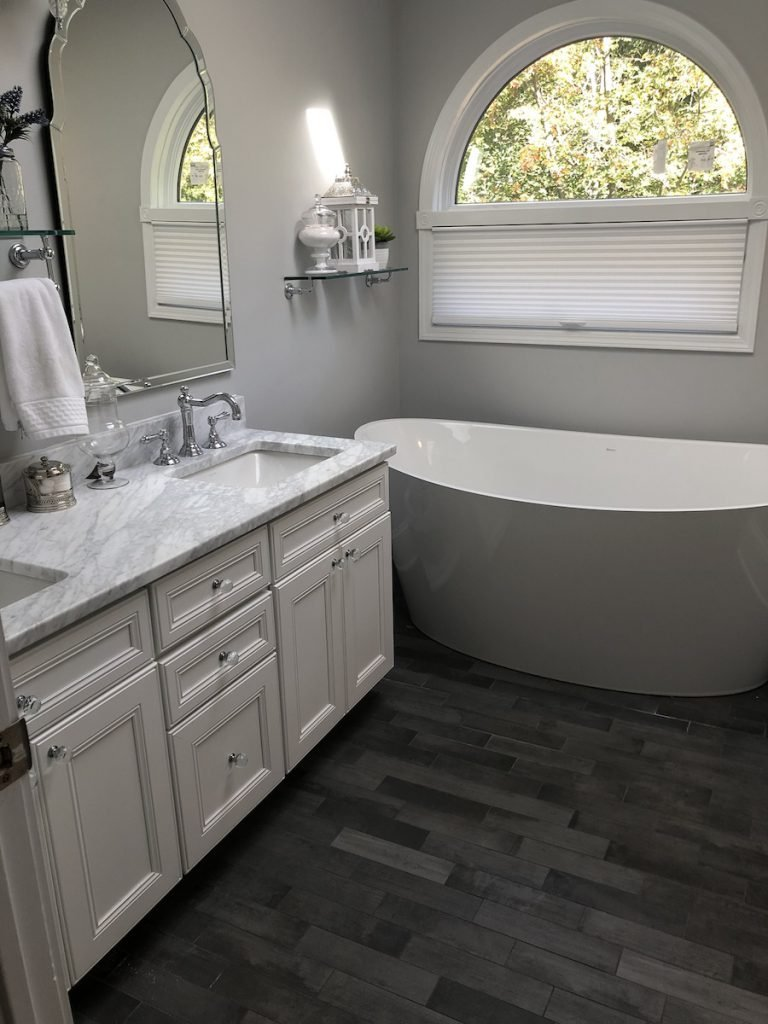 New Master Bathroom in Montville NJ