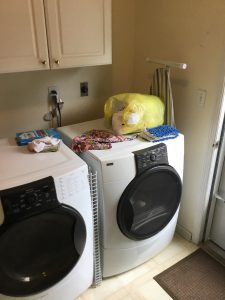 Existing Side-by-Side Washer and Dryer