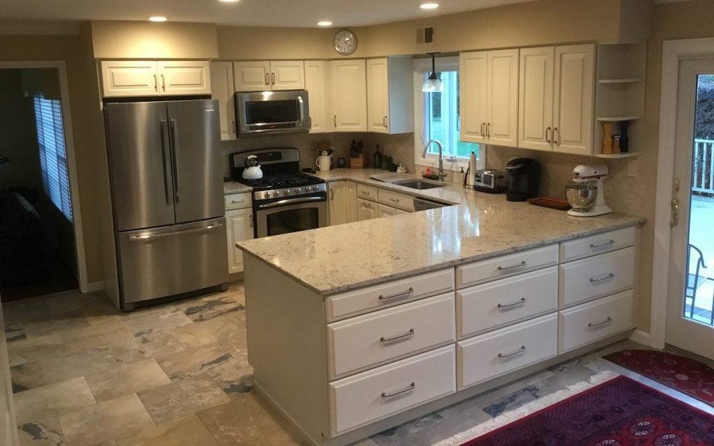 U-Shaped Kitchen Remodel