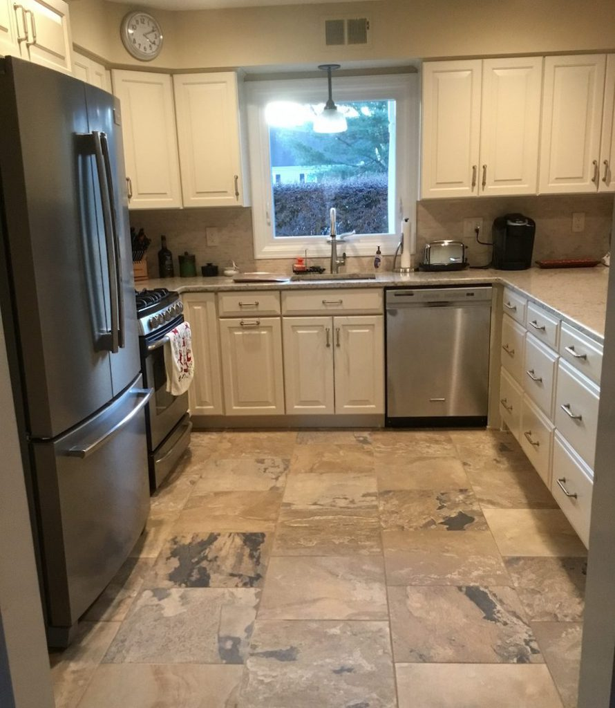 U-Shaped Kitchen Remodel In NJ